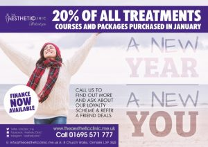 20% off all treatment courses The Aesthetic Clinic