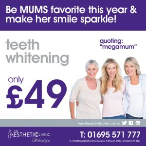 Treat your Mega Mum to MegaWhite for Mother's Day!! The Aesthetic Clinic