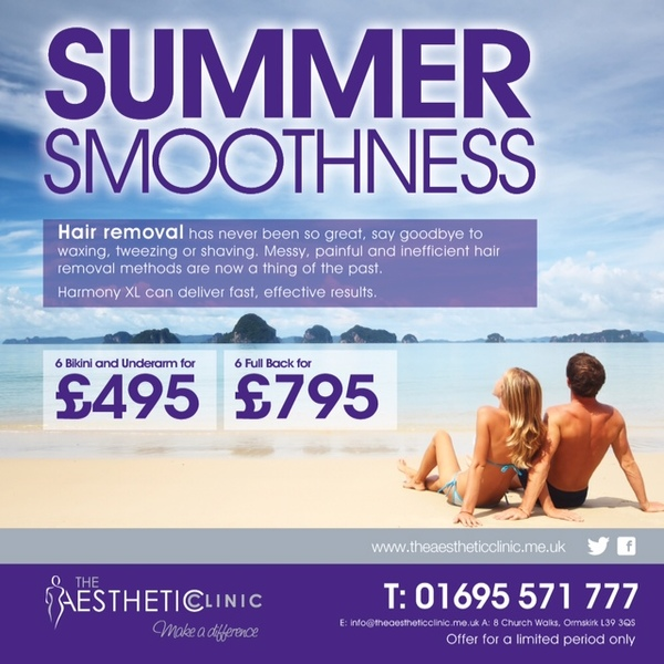 Summer Smoothness The Aesthetic Clinic