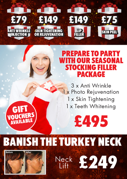 Who would like a treat before Christmas?? The Aesthetic Clinic