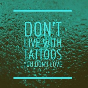 You don't have to live with tattoos you don't love!! The Aesthetic Clinic